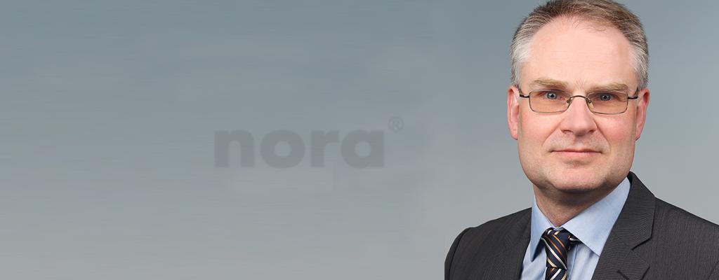Neuer Geschäftsleiter bei nora flooring systems
