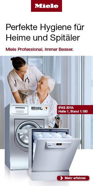 Miele - Perfekte Hygiene für Heime und Spitäler