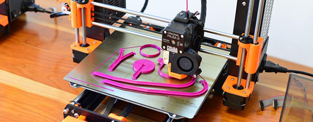 Ein Stethoskop aus dem Drucker
