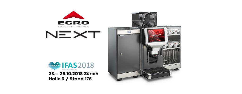 APP-gesteuerter Kaffeevollautomat Egro Next