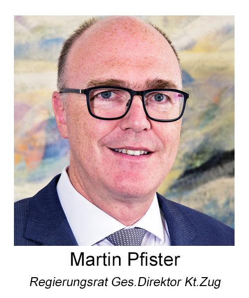 Regierungsrat Martin Pfister