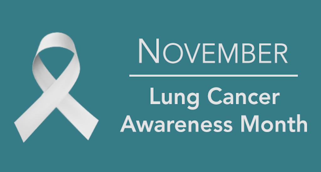 Awareness-Monat für Lungenkrebs